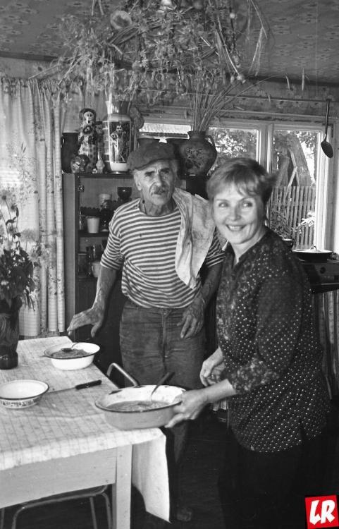 Ада Роговцева, муж, Константин Степанков, дача, улыбка