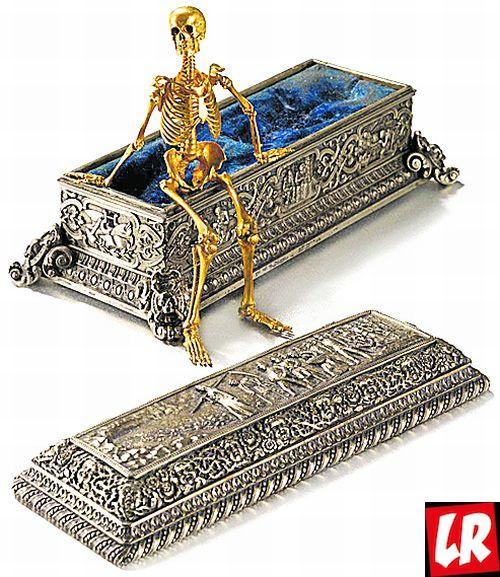 Саркофаг со скелетиком, Рухомовский, тиара