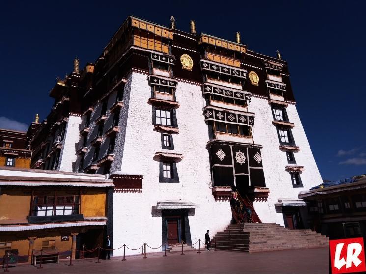 Потала, дворец Потала, Тибет, Лхаса, Далай-лама, Резиденция Далай-ламы