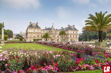 Люксембургский сад, Латинский квартал