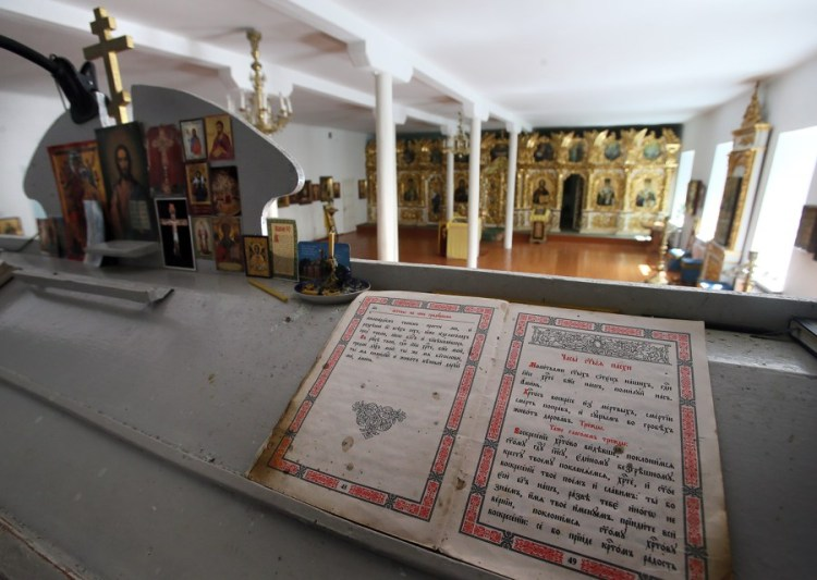 Мгарский монастырь, история Мгарского монастыря, иконостас