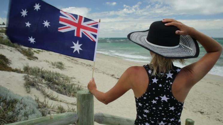 фишки дня - 3 сентября, флаг Австралии