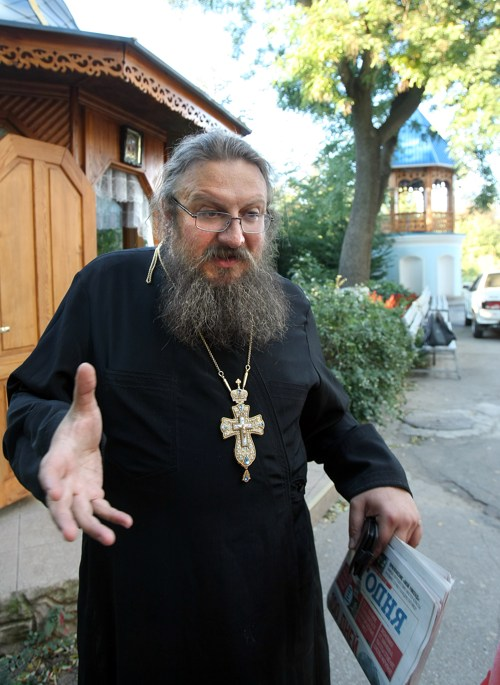 Одесский женский монастырь, отец Андрей Прудников, умер Андрей Прудников
