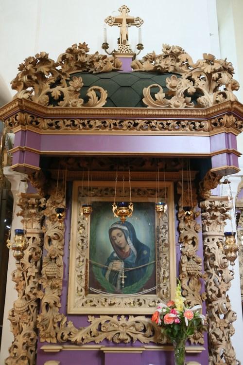 икона Упование всех концов Земли, Полтавский монастырь, спецпроект Тайны монастырей
