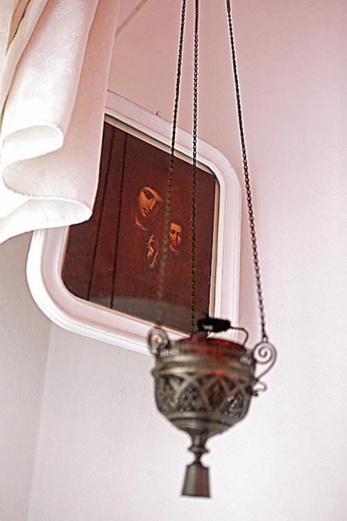 Дом Булгакова, Михаил Булгаков, Киев, Украина, писатель, Андреевский спуск, музей Булгакова, икона