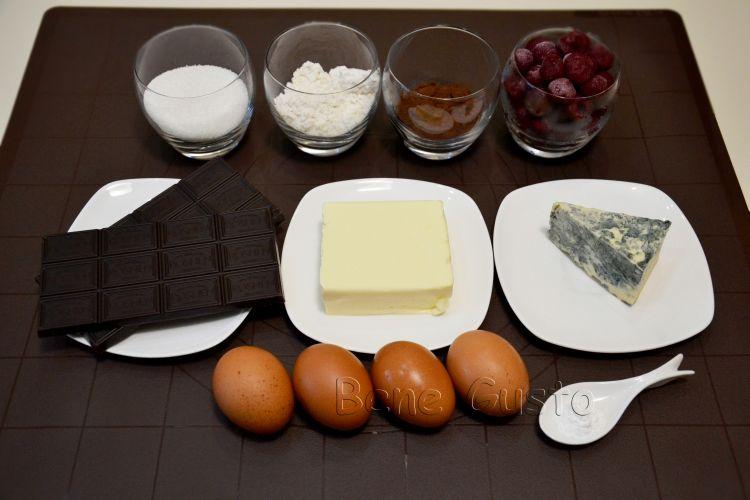 Брауни, вишня, дорблю, рецепт