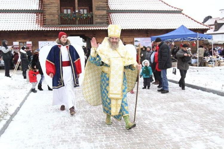 Фестиваль Святого Николая, Святой Николай, чигирин, резеденция, подарки, афиша, празник, дети