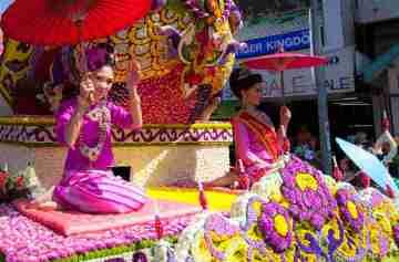 фишки дня, фестиваль цветов Таиланд