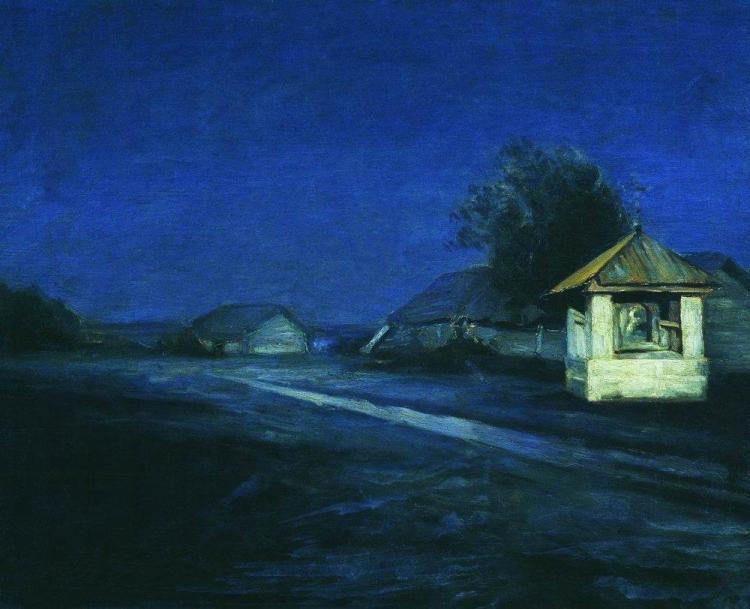 Куинджи, картины, Ночной пейзаж