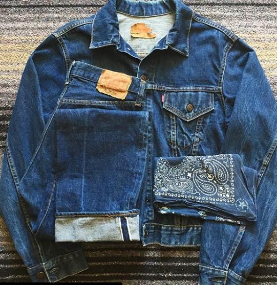 джинсы, куртка, винтаж, коллекция