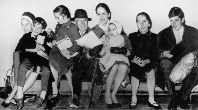 Чарли Чаплин, сын, интервью, Одесса, Юджин Чаплин