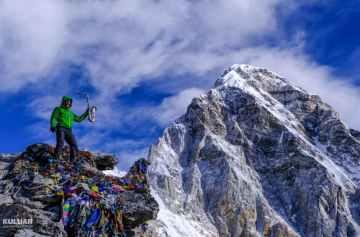 походы в горы, кулуар