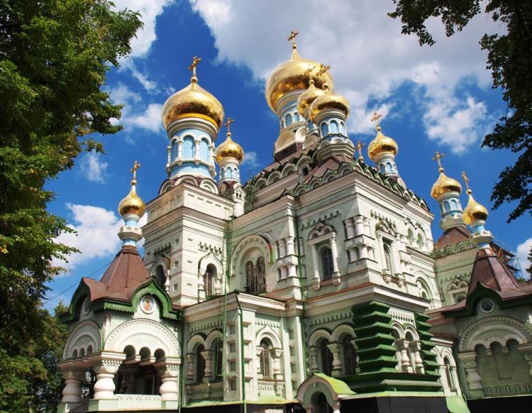 Покровский монастырь, святые Киева