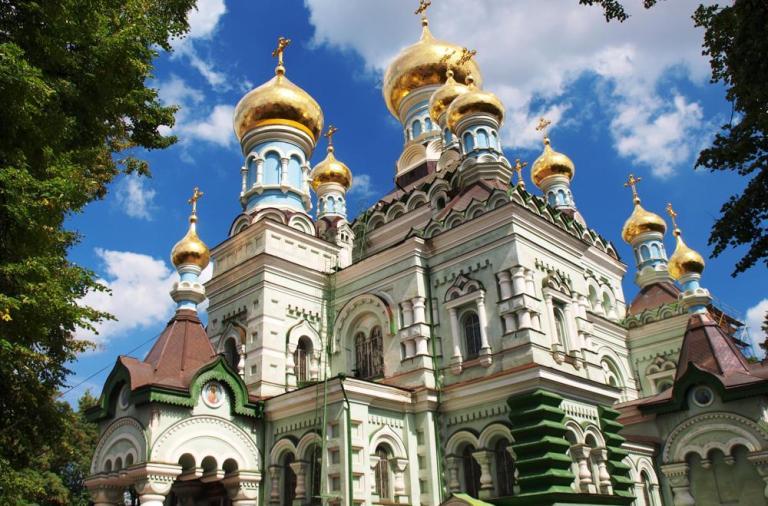собор киевских жен, киевские святые, хранительницы киева, покровский монастырь