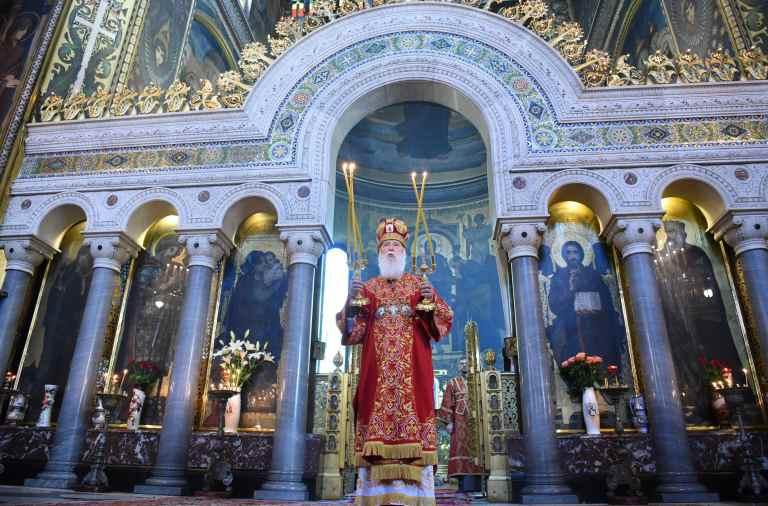 Филарет, церковь, УПЦ КП, ПЦУ, томос, Владимирский собор, Киев, церковная служба