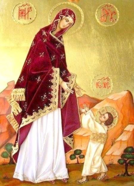 Редкие иконы Богородицы, молодым семьям, икона первые шаги