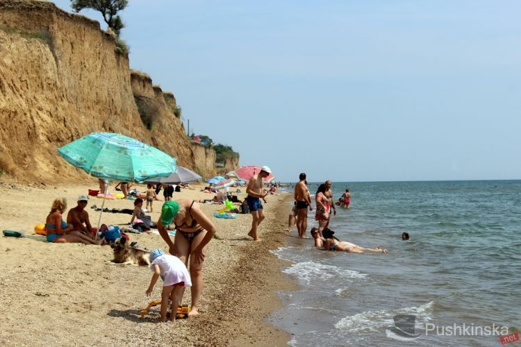 Санжейка, пляж, Одесса, высоцкий, отдых