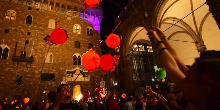 фишки дня - 7 сентября, фестиваль фонариков Флоренция