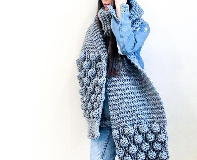 Тренды осени 2019, шарф