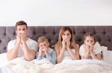 грипп, чем лечить, симптомы, семья