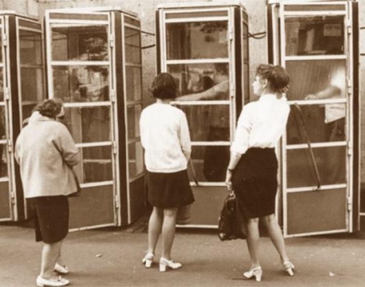 Советские телефонные будки, История уличных телефонов
