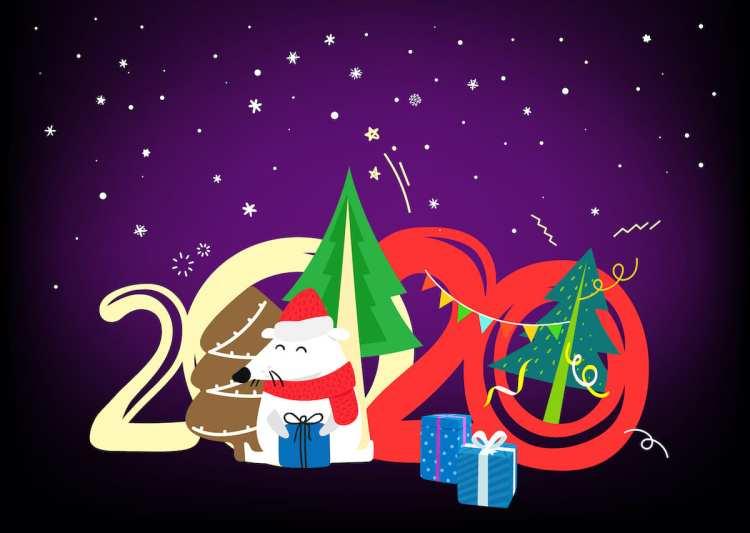 год Крысы, Новый год по Китайскому календарю, 2020
