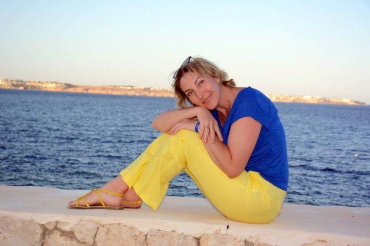 Анжелина Швачка, море, отдых