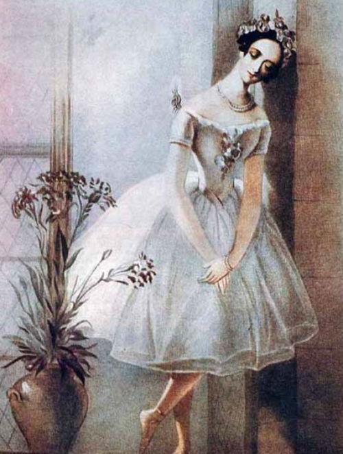 балерина, Тальони, Айвазовский в Венеции, любовь