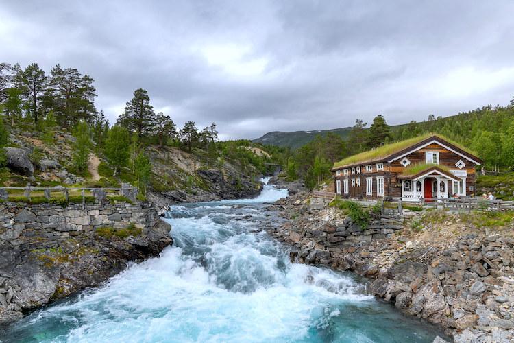 гора Биллинген, Швеция