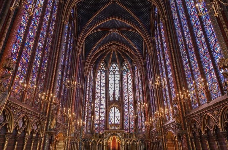 Париж, Сен-Шапель, христианские святыни Парижа