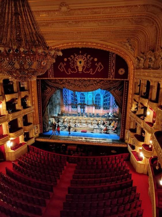 технології , сцена Одеського національного академічного театру опери та балету