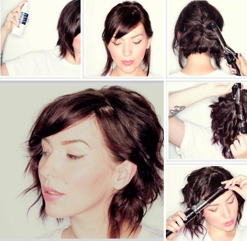 Sehr kurze haare strähnen