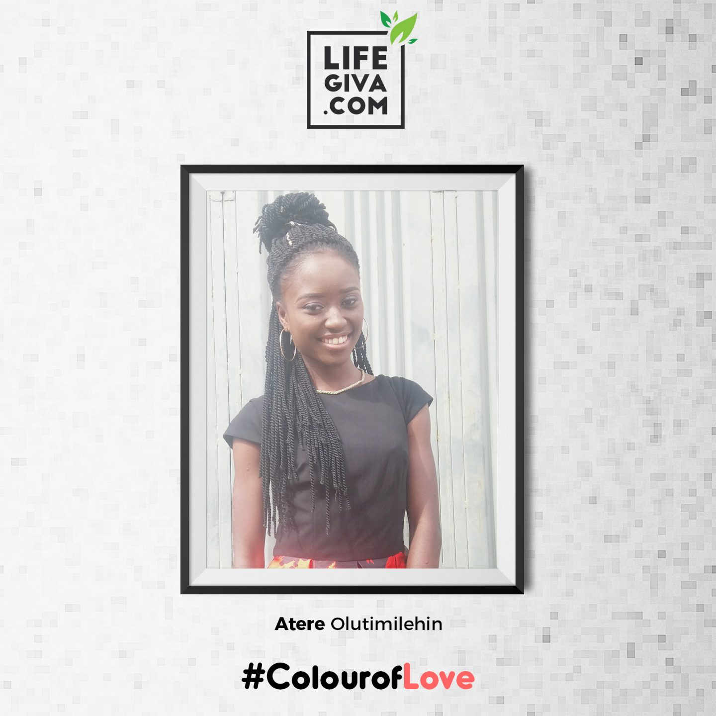 All for Love - Atere Oluwatimilehin #ColourOfLove