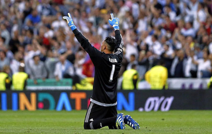 Christians in Sports - Keylor Navas