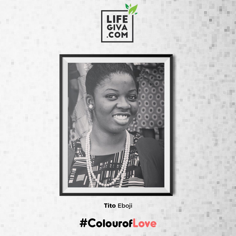More than a Word - Tito Eboji #ColourOfLove