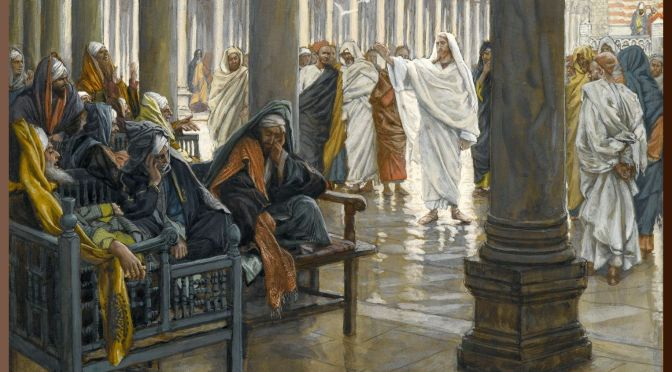 JOURNEY WITH JESUS: Holy Tuesday