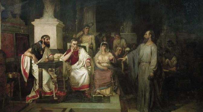 God's People, part 277: Agrippa