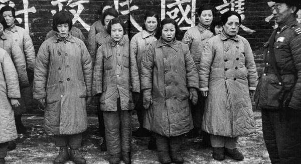 Как обращались с женщинами белой расы японские солдаты