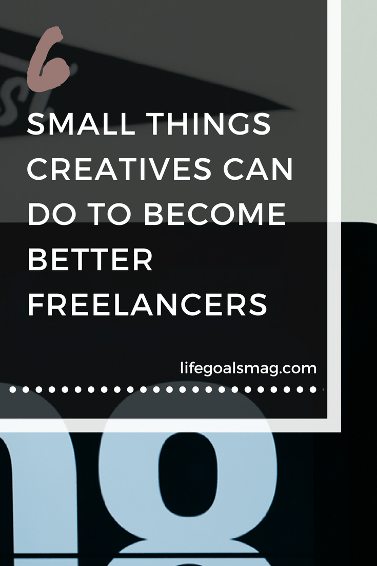 tips for becoming a better freelancer.