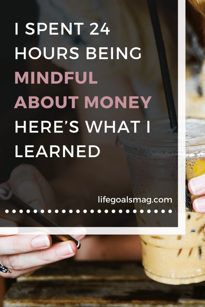lessons learned from experiencing money mindfulness.