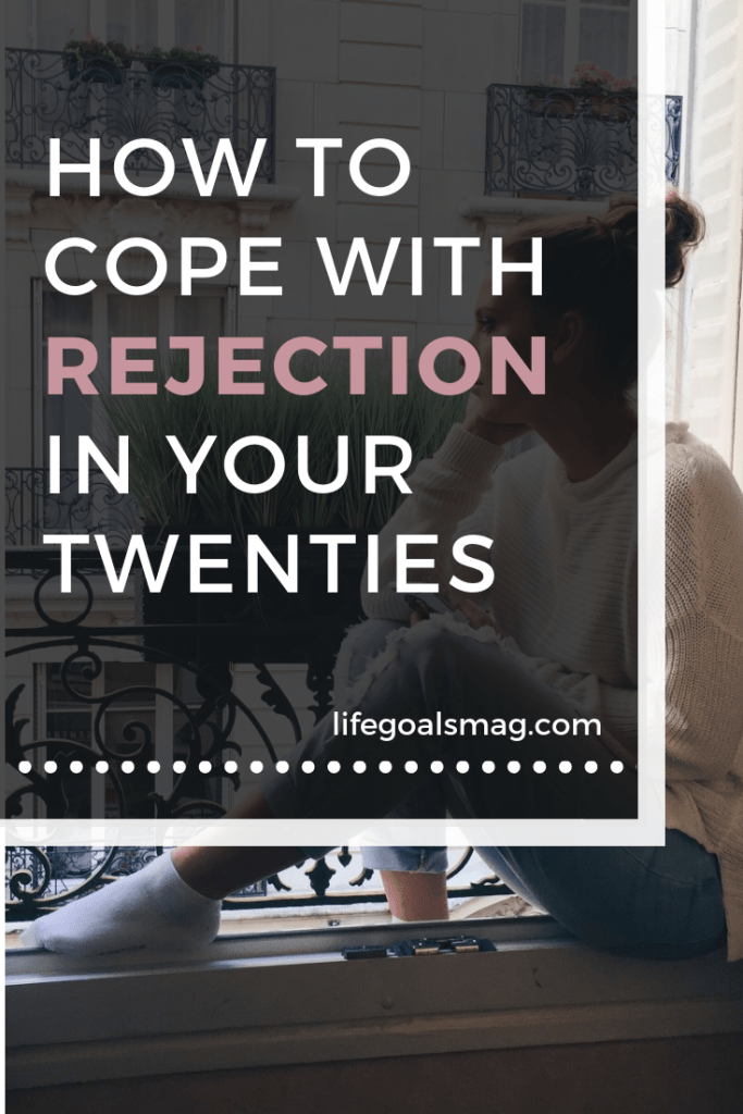 tips for coping with rejection in a healthy way in your twenties when you get rejected. feeling failure is normal, set-backs happen all the time, but it's how we move forward that matters.