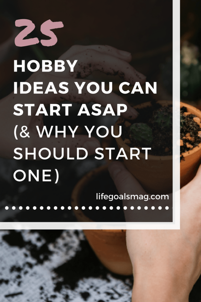 hobby ideas to start now