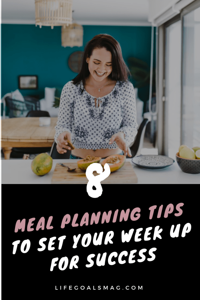 meal prep and planning tips for setting up your week for success. sunday activities to make your week simpler.