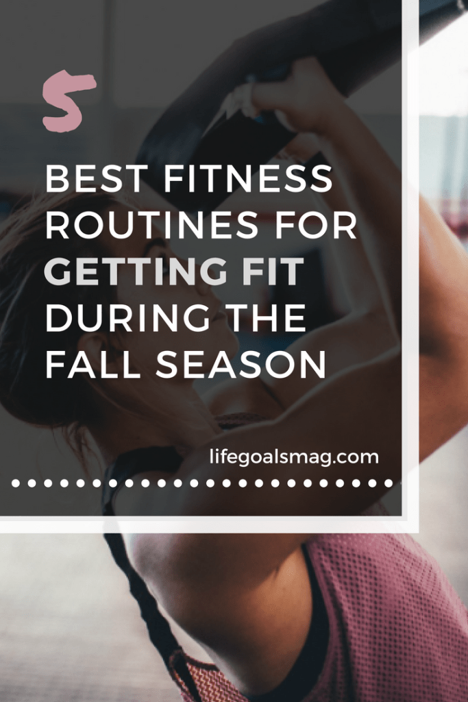 getting fit during fall. pumpkin spice season has it's own set of challenges when it comes to working out consistently. here are good routines that'll make your healthy habits easy