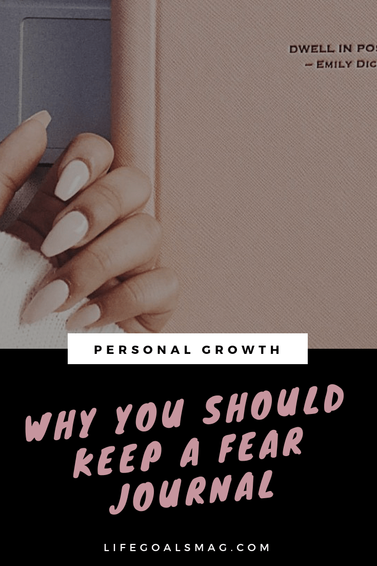 how (and why) you should keep a fear journal. add it to your journaling, morning routine to combat your biggest life challenges. #fears #journaling