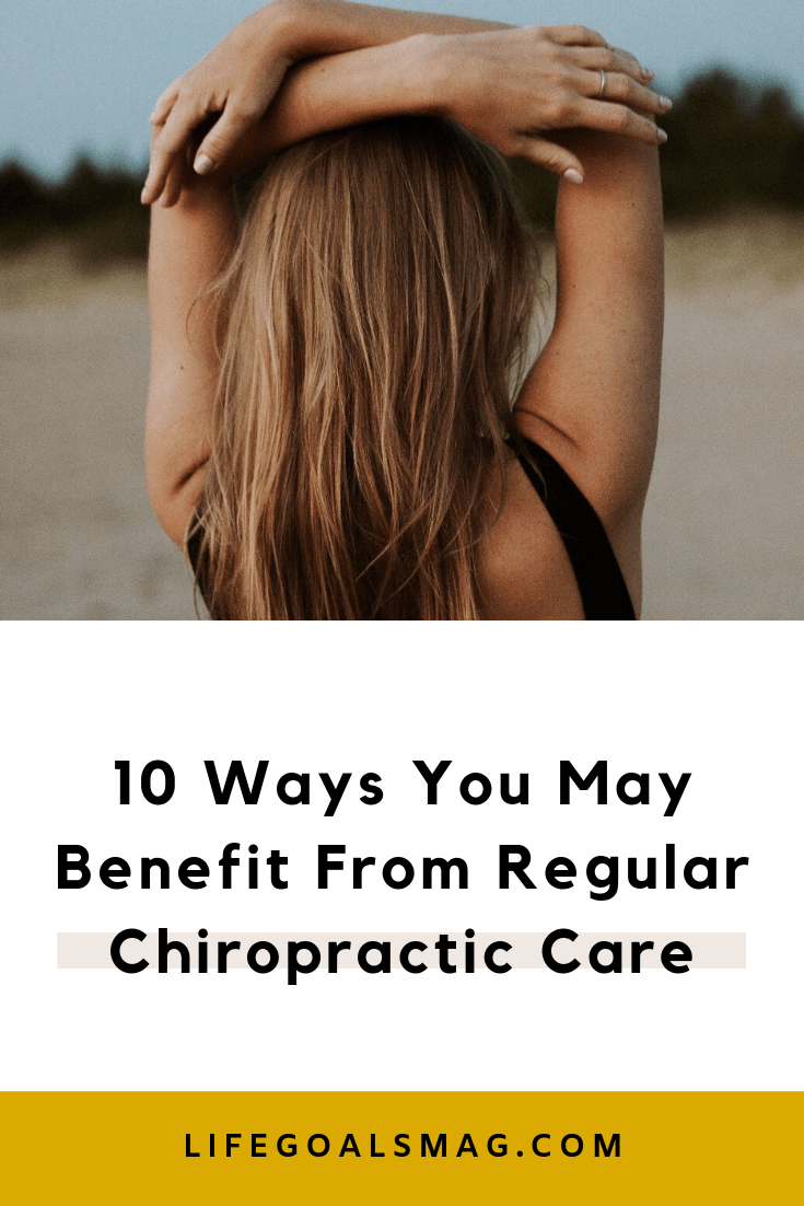 do you go to a chiropractor regularly? here's why seeing one regularly can benefit your health in more than 10 ways. Pain relief, to lowering inflammation, to allergy relief, here's why I receive chiropractic care for essential self-care and holistic wellness. #healing #health #wellness