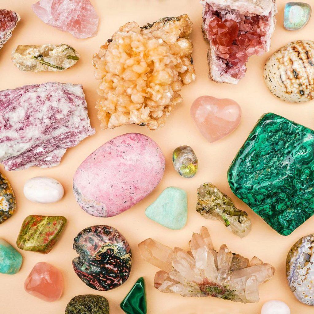 crystal energy - abundance of pretty crystals