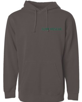 Ocean Dogs Surf Rescue Pigment Dyed Hoodie