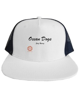 Ocean Dogs 'Surf Racing Logo' Trucker Mesh Hat