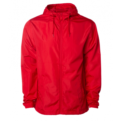 The Original Watermen Lifeguard Lightweight Windbreaker - Red